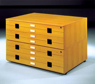 Archivadores de planos - Archivadores de madera ...