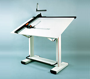 Mesas de dibujo for Mesa de dibujo con luz