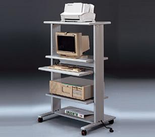Mesas para ordenador - Mesa de ordenador con ruedas ...